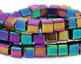 Multi-color Square Beads