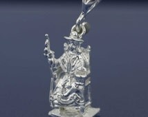 Santo Niño de Atocha, Sterling Silver Santo Niño de Atocha Necklace, Santo Niño Pendant, Baby Jesus Silver Necklace, Saint from Mexico