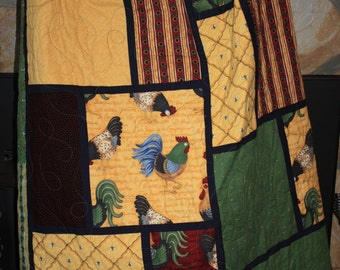 Country Rooster Quilt