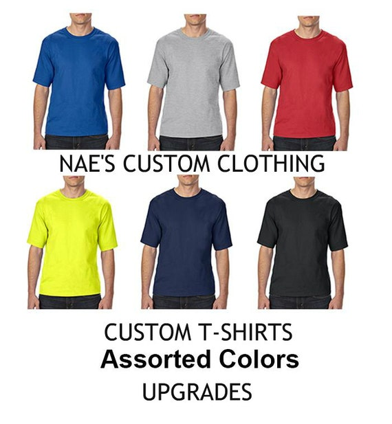 Custom order business logo t shirt business shirt graphic for Where to buy custom t shirts
