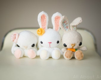 Spring Bunnies Crochet Pattern