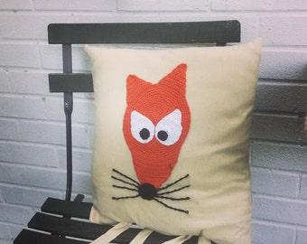 Foxy Fox Cushion Cover