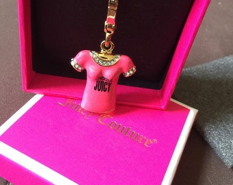 Juicy Couture T Shirt Charm