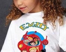 Little Einstein Iron On Transfer Shirt -Little Einstein DIY Iron On Transfer - Little Einstein Shirt -Little Einstein Digital Printable-