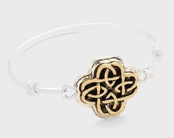 Irish Celtic Knot Hook Bracelet