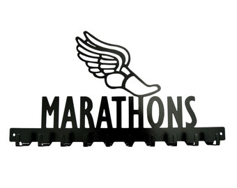 Free USA Shipping Marathons Medals Display Rack 10 Hook