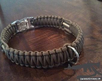 Paracord Bullet Dog Collar