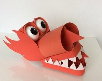 Welsh Dragon Puppet