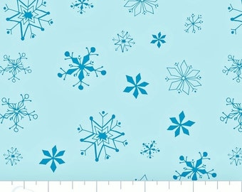 "Winter Wonderland- Snowflakes in Rainwater 19 1/2"" wide"