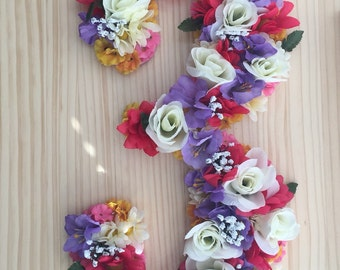 Boho Party Numbers and Letters