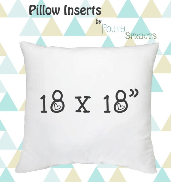 Pillow Inserts For Throw Pillows : Faux Down Pillow Inserts Soft Throw Pillows White Pillow
