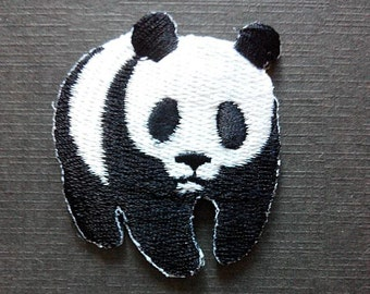 Love Panda Wild Life Iron On Patch