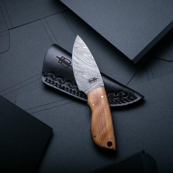 Small Skinning Knives Custom Handmade Fixed ...