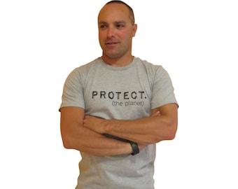 Groovy Globe Men's PROTECT Organic T-shirt