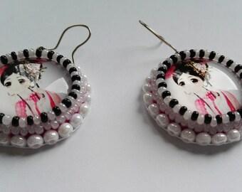 Kawaii Princess Earrings