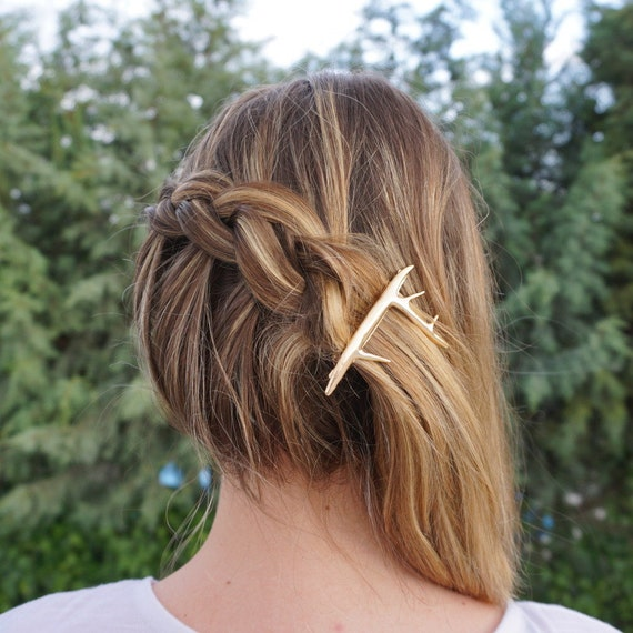 Antler Hair Clip from Designs by GRG