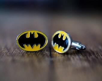 Cufflinks (cufflinks) superhero Batman