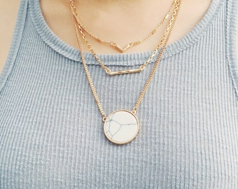 10% off - Layered necklace