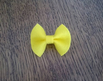 Baby bow clips
