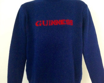 Vintage Guinness Beer Sweater L