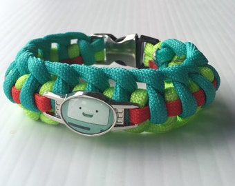 Beemo Adventure Time paracord bracelet
