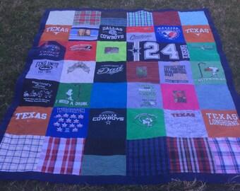 Memorial T shirt Quilt