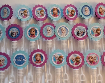 Frozen wands etsy for Mini bubble wands