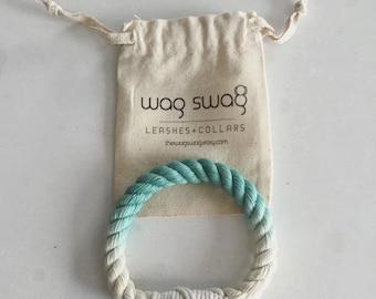 Ombre cotton rope bracelet