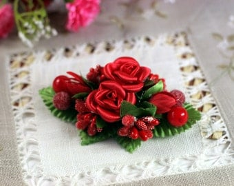 Hair accessories, Floral hairpin, for hairstyles