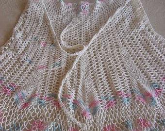 Beautiful Hand Made Crocheted Apron