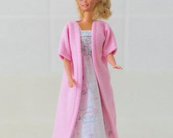 11 1/2 inch Fashion Doll Nightgown and Bathrobe Set