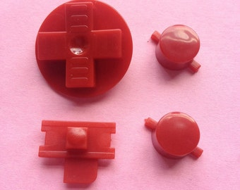 Replacement Gameboy DMG Buttons