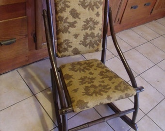 Vintage Kids Rocking chair, (# 717)
