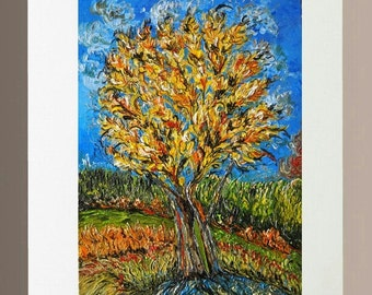 Art Print - Autumn Tree