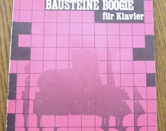 Sheet music book Baustene Boogie