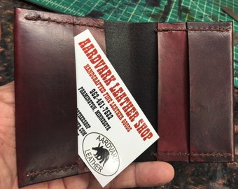 Handcrafted Luxurious Leather Card Wallet