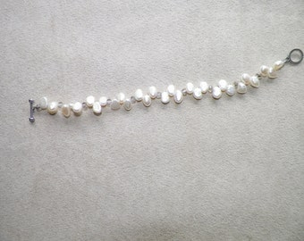 Potato pearl bracelet