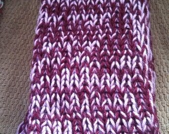 blackberry colored scarf