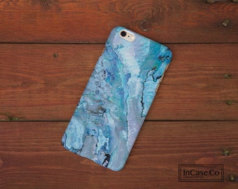Blue Shell Phone Case. Blue Marble. For iPhone Case, Samsung Case, LG Case, Nokia Case, Blackberry Case and More!