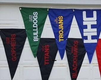 Custom Nylon Team Flags