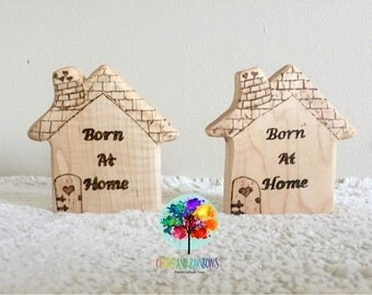 Homebirth keepsake/teether