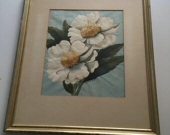 Original Watercolor Flowers