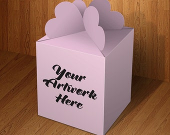 Lovely Gift Box Mockup