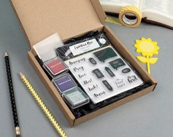Pray It - Stamp Starter Kit, Clear Christian Stamps, Bible Journaling Stamp Kit