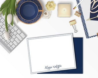 Personalized Stationery Classic Style, Personalized Stationery, Customized Stationery, Stationery note cards, Personalized note cards