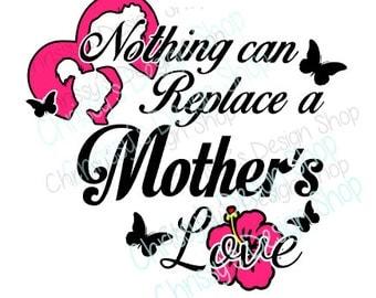 Mother love SVG / mom svg / Nana Love SVG / Mim love SVG / Grandma svg / vinyl crafts / mom silhouette / mom dxf / mom png / Oma svg