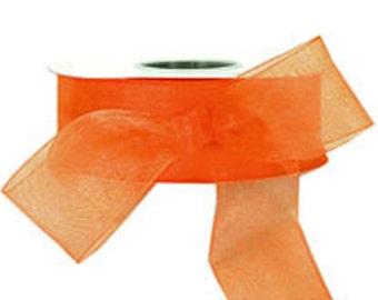 Fashion Copper Sheer Ribbon    (10-##-S-129)