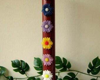 decorated candle,hi pillar candles