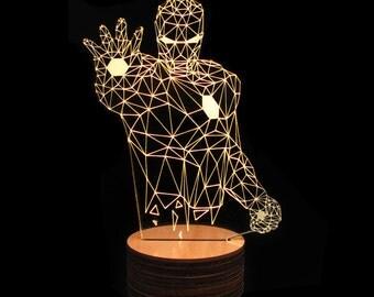 Iron Man 3D Deco Lamp