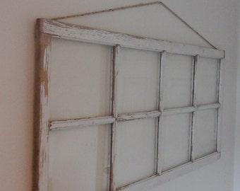 8 panel vintage window
